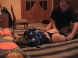 Pervert Guy Taped Fucking His Sleeping  Wife