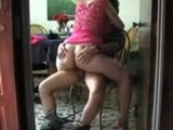 Hot Amateur Wife Rides Her Hubby On a Chair Till Orgasm