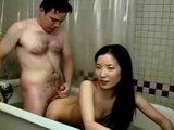 Asian teen getting a fucking