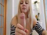 Blonde Has A Huge Challenge In Front Of Her For Anal Fucking